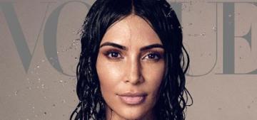 Kim Kardashian finally explains her weird-ass, poorly designed bathroom sinks
