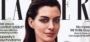 Anne Hathaway on giving up her veganism: 'My brain felt like a computer rebooting'