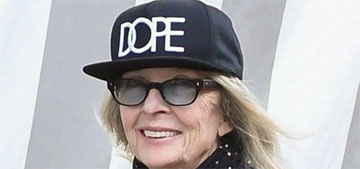 Diane Keaton's wide-legged jeans get raves from onlookers and celebrities