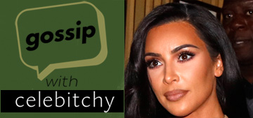 'Gossip with Celebitchy' Podcast #14, Kim Kardashian's concrete sink; Momoa shaves