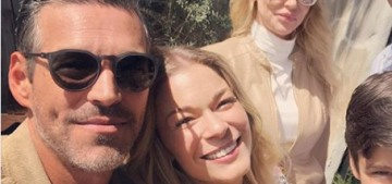 LeAnn Rimes Instagrams an 'awkward family' reunion with Brandi Glanville