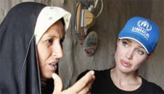 Angelina Jolie makes a third UNHCR trip to Iraq before going to Jordan