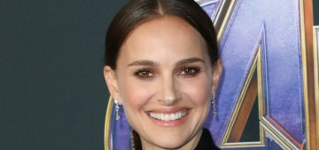 Natalie Portman looked pretty in Dior at the 'Avengers: Endgame' premiere
