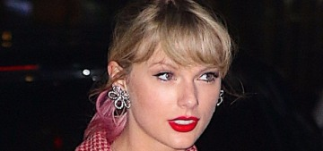 Taylor Swift reveals pink hair ahead of her 4/26 launch: is she doing a fashion line?