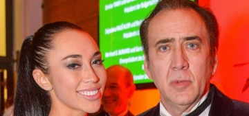 """""""Nicolas Cage's four-day wife wants spousal support, lmao"""" links"""