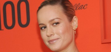 Brie Larson in custom Prada at the Time 100 gala: stunning or blah?