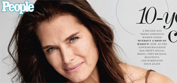 Brooke Shields on staying fit: 'The older you get, the harder it is'