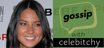 'Gossip with Celebitchy' Podcast #15: Olivia Munn is an ass, which 90s icon talked to us?