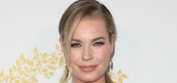 Rebecca Romijn: 'As you get older, you just have to accept your looks'