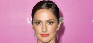 Minka Kelly: in high school 'my eyebrows were plucked almost all the way off'