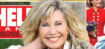 Olivia Newton John: 'If you think dark thoughts, you're going to create a dark world'