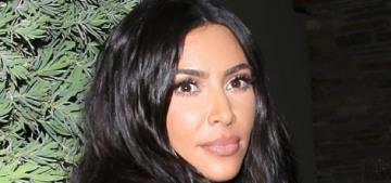 Kim Kardashian: 'I am eating all plant-based when I am home'
