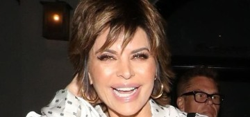 Lisa Rinna's skincare routine costs around $2k, sounds reasonable for her?