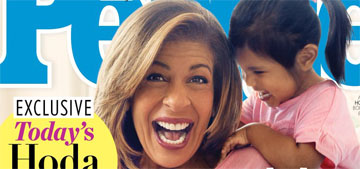 Hoda Kotb and her daughters cover People: She 'forgot everything' about baby care