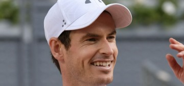 Andy Murray paid a small fortune to fix his charmingly crooked teeth, why??