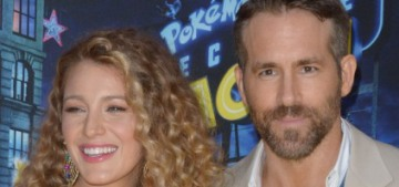 Blake Lively reveals her third pregnancy at the 'Detective Pikachu' premiere