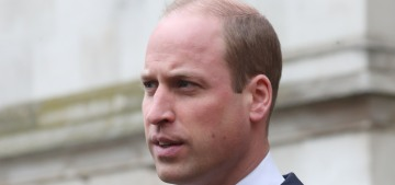 Prince William steps out in London to honor the Submarine Service