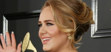 Adele jokes on her 31st birthday that her '30′ album will be 'drum n bass'