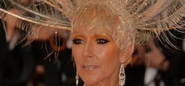 Celine Dion was delightfully campy in Oscar de la Renta at the Met Gala