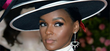 Janelle Monae wore a winking Christian Siriano gown to the Met Gala