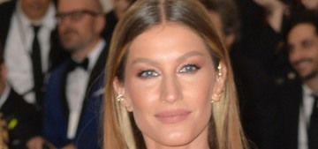 Gisele Bundchen in Dior at the Met Gala: 1970s disco or just off-theme?