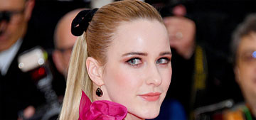 Rachel Brosnahan in Erdem at the Met Gala: more frumpy than on theme?