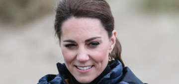 Duchess Kate changed up her look in Wales with a Troy parka: super-cute?