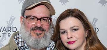 David Cross and Amber Tamblyn got a couples colonic: 'It's a terrible idea'