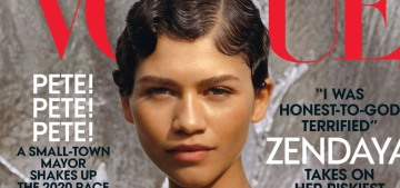 Zendaya covers Vogue: 'Talking is important. But walking the talk is important, too'