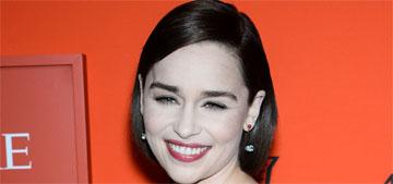 Emilia Clarke: 'If you look emaciated & full of self-loathing you don't look beautiful'