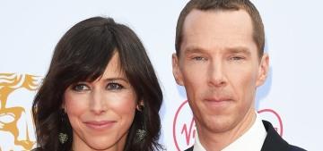 Benedict Cumberbatch thanked his 'rock' Sophie Hunter at BAFTA TV Awards