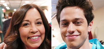 Pete Davidson brought his roommate/mom on SNL and it was the cutest