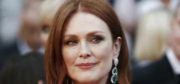 Julianne Moore looked amazing in emerald Dior for Cannes Opening Night