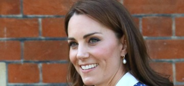Duchess Kate told people that Prince Louis is already climbing on top of slides