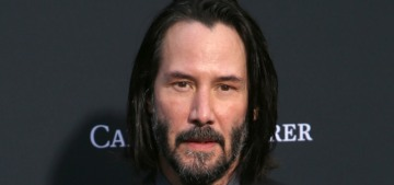 Does Keanu Reeves need to wash his hair, or is he a perfect angel as-is?