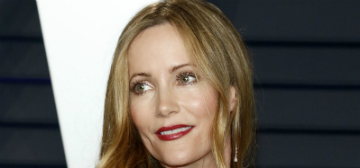 Leslie Mann had a work crush on Brendan Fraser, thought she would marry him