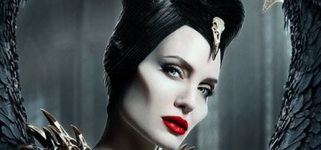 We need to talk about Angelina Jolie's bird-skull covered 'Maleficent' costume