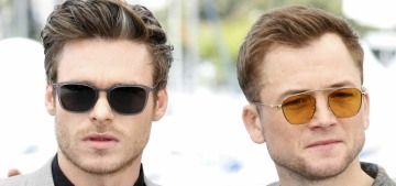 Please enjoy these pretty pictures of Taron Egerton & Richard Madden in Cannes