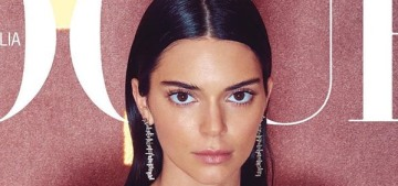 Kendall Jenner thinks it was a lot harder to become a model because of her name