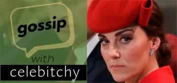 'Gossip with Celebitchy' podcast #18: Royal reporters saltier about Meghan (update)