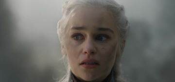 Emilia Clarke on the finale: 'I stand by Daenerys. I stand by her! I can't not'