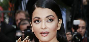 Aishwarya Rai wore Ashi Studio & Jean-Louis Sabaji in Cannes: love it or hate it?