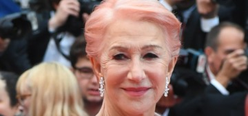 """""""Helen Mirren had pink hair for the Cannes Film Festival"""" links"""
