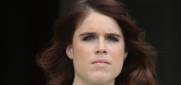 Princess Eugenie stepped out in London & she doesn't look pregnant at all?