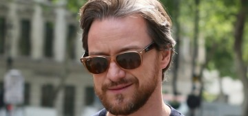 Thursday BDE: Michael Fassbender & James McAvoy step out in London