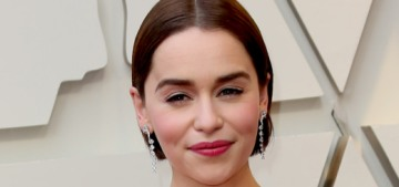 Emilia Clarke said no to 'Fifty Shades' because she didn't want to do more nudity