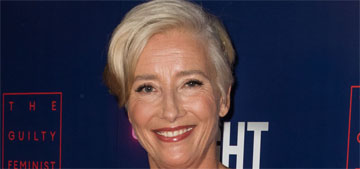 Emma Thompson: I don't want to think about men's problems at the moment