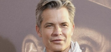Timothy Olyphant on the 'Deadwood' movie: 'I showed up, put the hat on'
