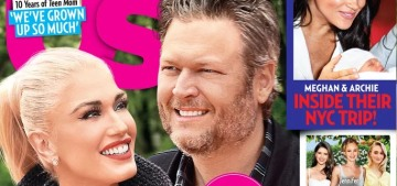 Us Weekly: Gwen Stefani & Blake Shelton are all about churchy ranch life