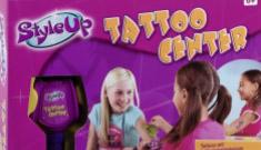 Kids DIY tattoo studio